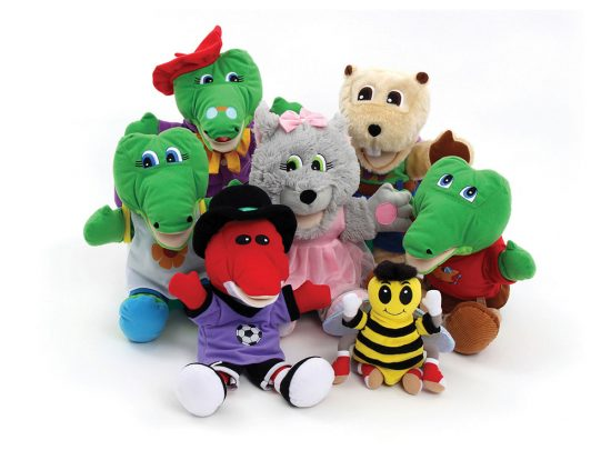 Dilly and Friends Plush Puppets, aa p cropped